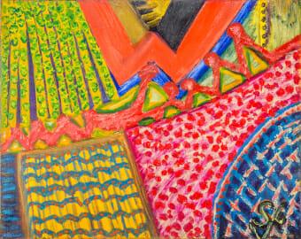 Sue Layman Abstract Art Gallery Memphis
