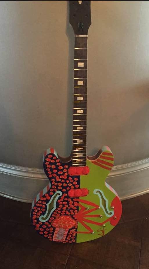 Blues Ball Guitar